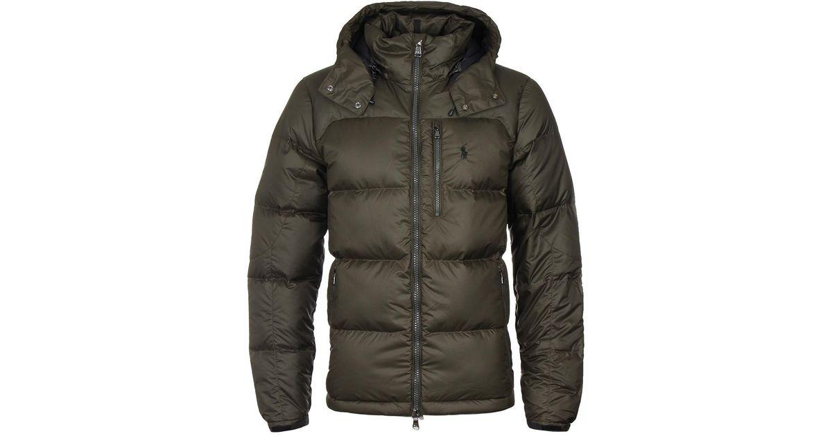 Men Jacket Lauren Down Ralph Hooded For Loden Green Polo dthQBCorsx