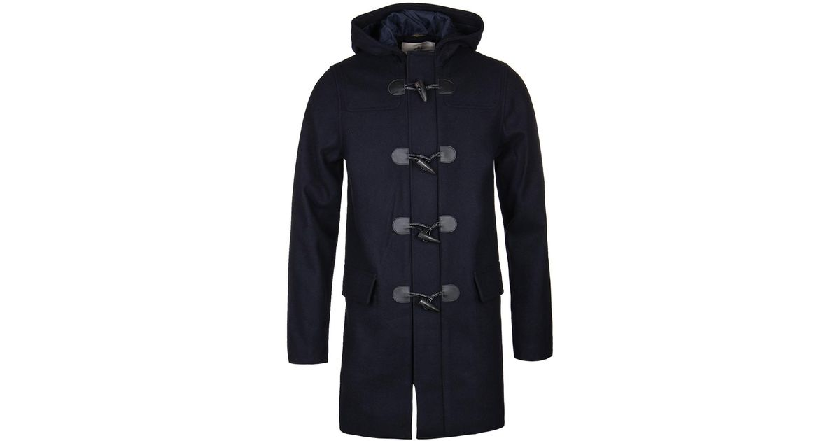 hot products first rate official images Henri Lloyd Blue Bainshore Navy Duffle Jacket for men