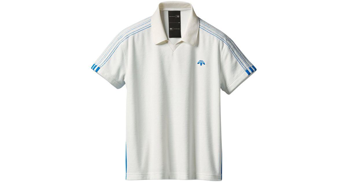 AW Velour Polo Shirt
