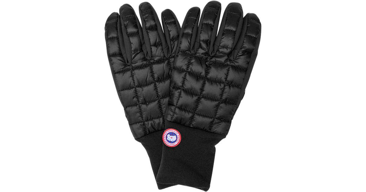 Canada Goose Black Northern Utility Glove For Men