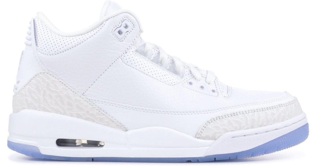 hot sale online save up to 80% speical offer Nike White Air 3 Retro 'pure for men