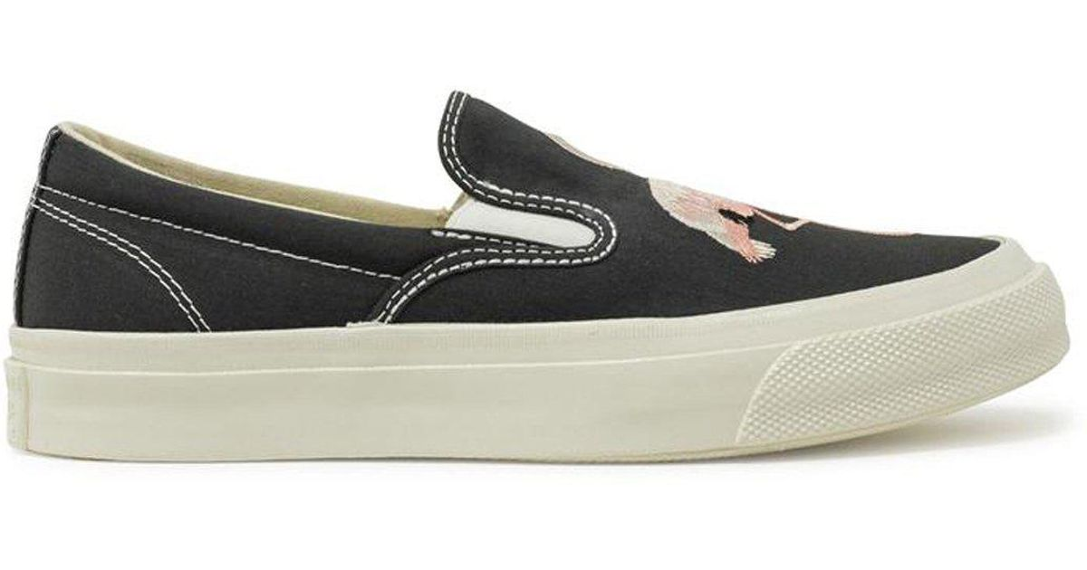 a9fb2cf17464 Lyst - Converse Chuck Taylor All Star  70 Flamingo Embroidered Slip On in  Black
