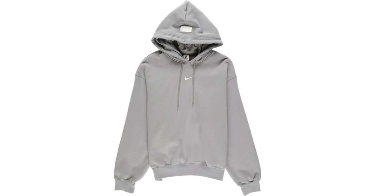 Nike Cotton Fear Of God Hoodie in Gray