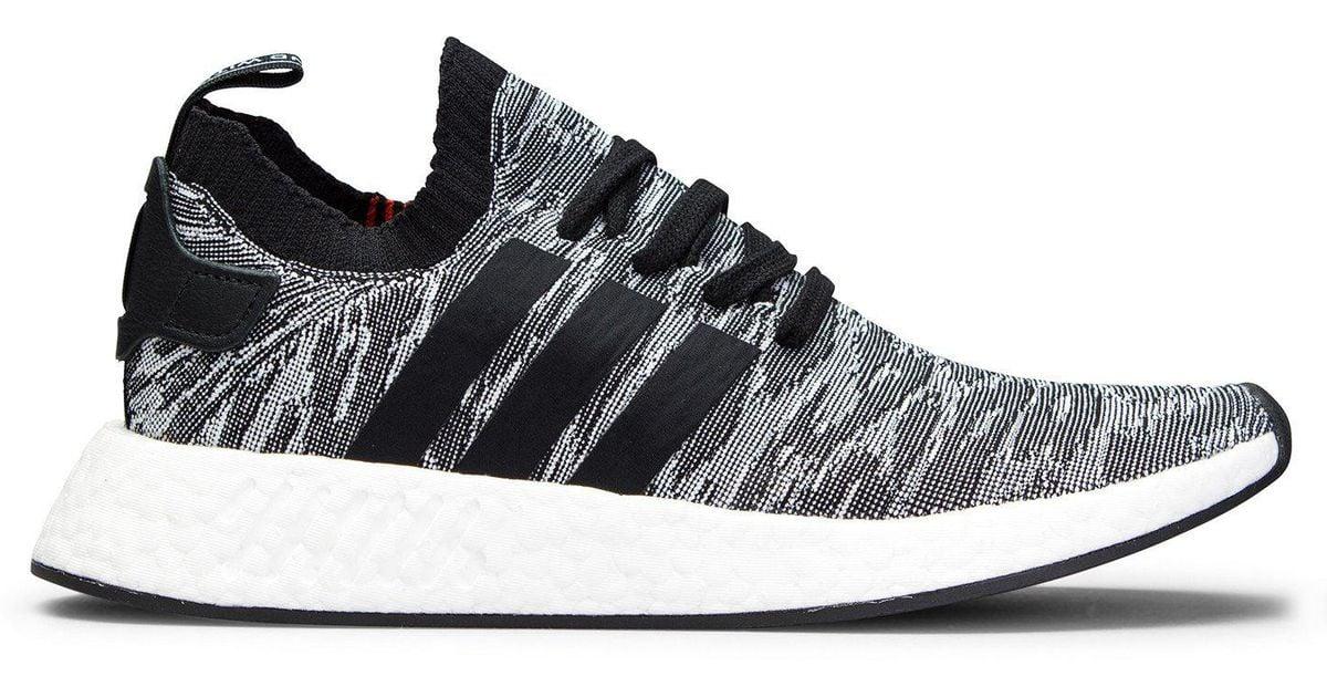 get cheap 4407b 55222 Adidas Originals - Black Nmd R2 Primeknit - Lyst
