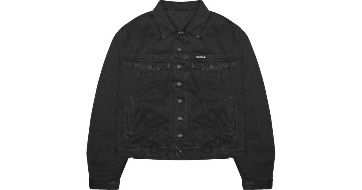 185c5bce273a Lyst - Off-White c o Virgil Abloh Padded Denim Jacket in Black for Men