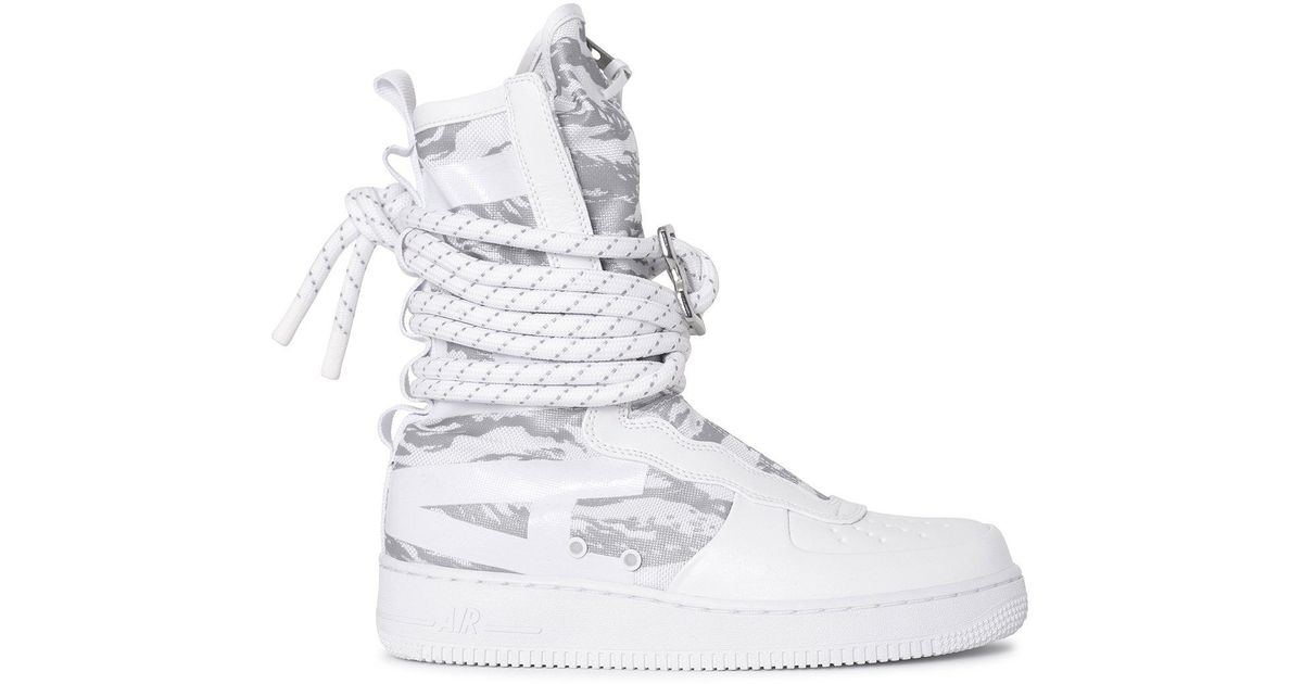 Sf Air Force 1 Hi Winter Boot in White