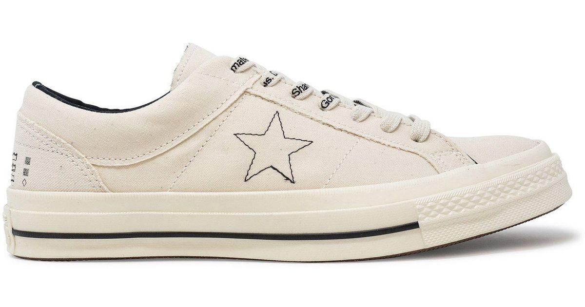 6a8f41403b2b2e Lyst - Converse Midnight Studios X One Star Ox in White for Men