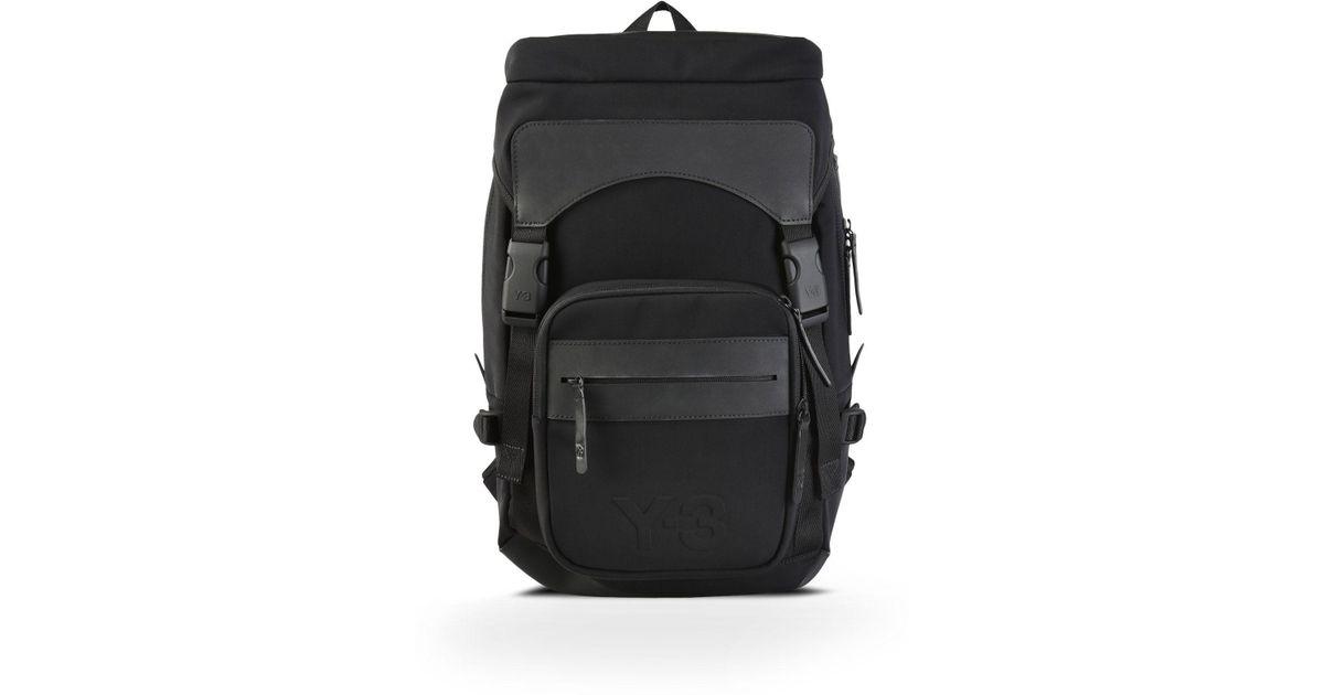 Lyst - Y-3 Ultratech Bag Small in Black for Men 21b96b17237c3