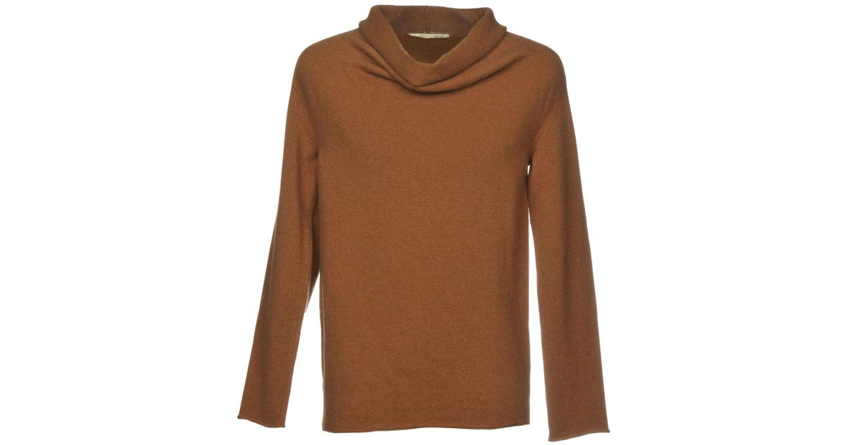 Grifoni Mauro For In Lyst Turtleneck Brown Men 8mNnv0w