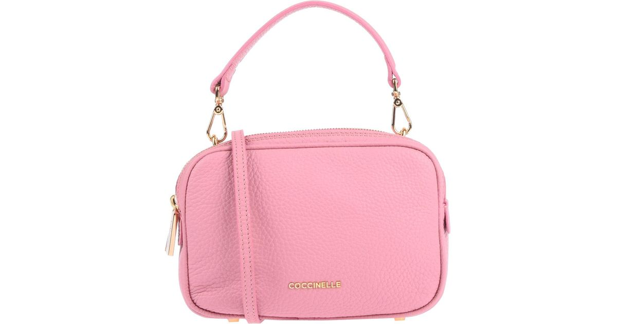 Coloris Sac Main À En Pink Coccinelle 35qL4RAj
