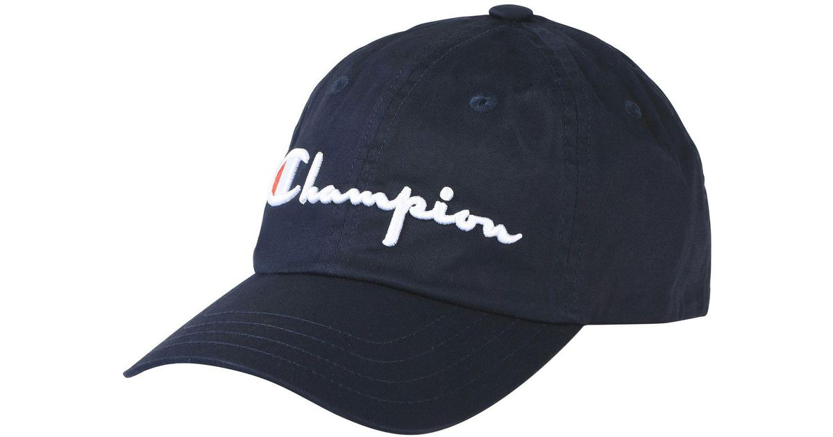 Lyst - Champion Hat in Blue f2a5599dae9