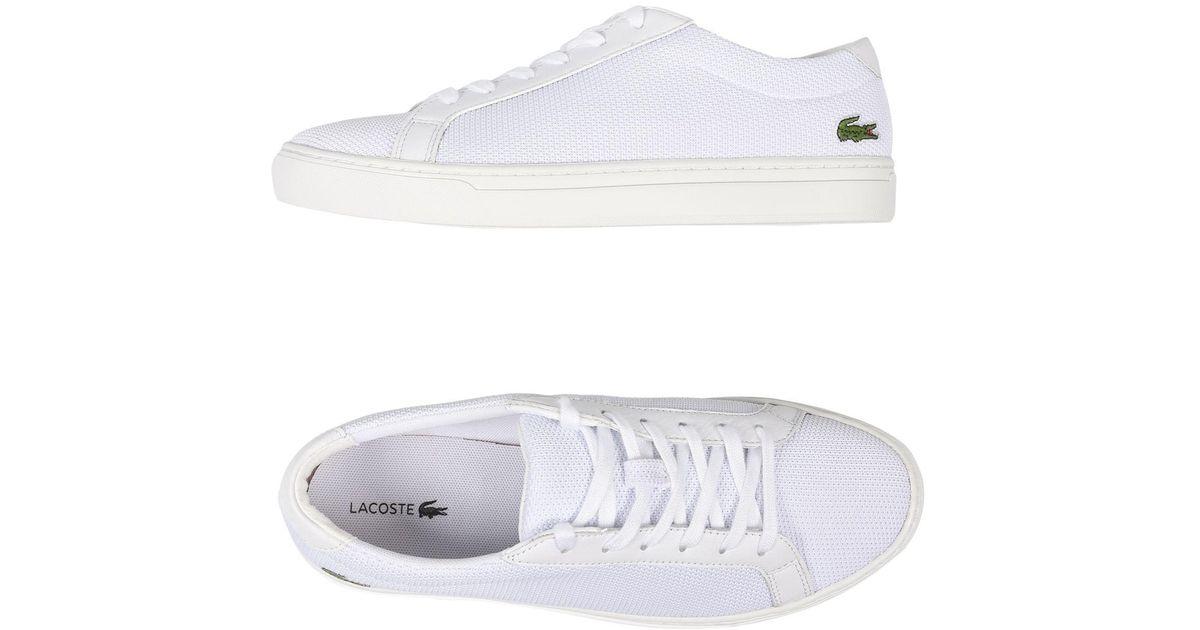 Lacoste Rubber Low-tops \u0026 Sneakers in