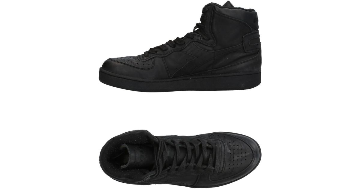 cedf9b8b Diadora Black High-tops & Sneakers for men