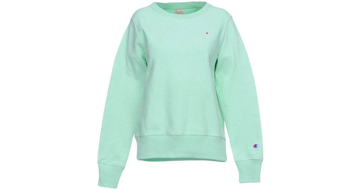 Champion Green Sweatshirts