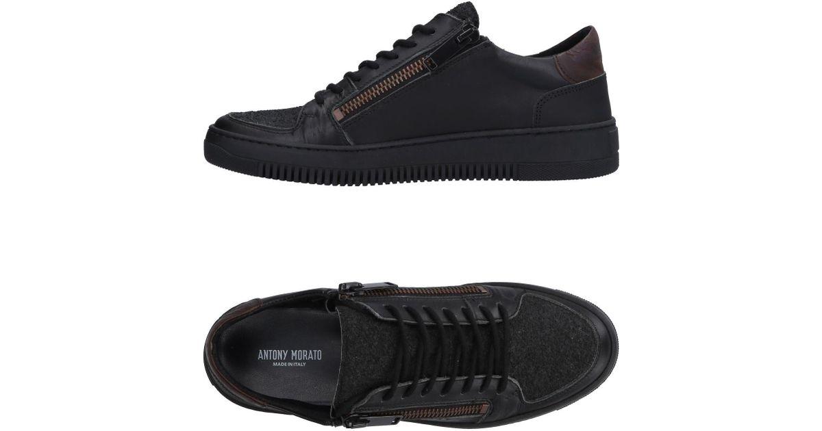 Antony Morato Leather Low-tops