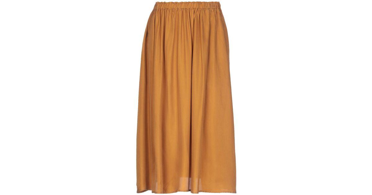 Scotch Amp Soda 3 4 Length Skirt Lyst