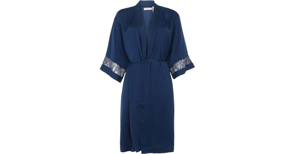 Triumph Dressing Gown in Blue - Lyst