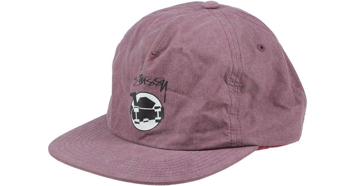 b05b7b516d9 Lyst - Stussy Hat in Purple for Men