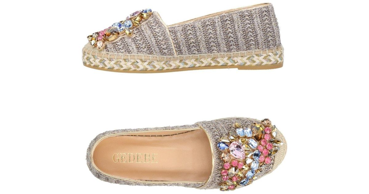 outlet store 3f5e9 43c9b gedebe-Dove-grey-Espadrilles.jpeg