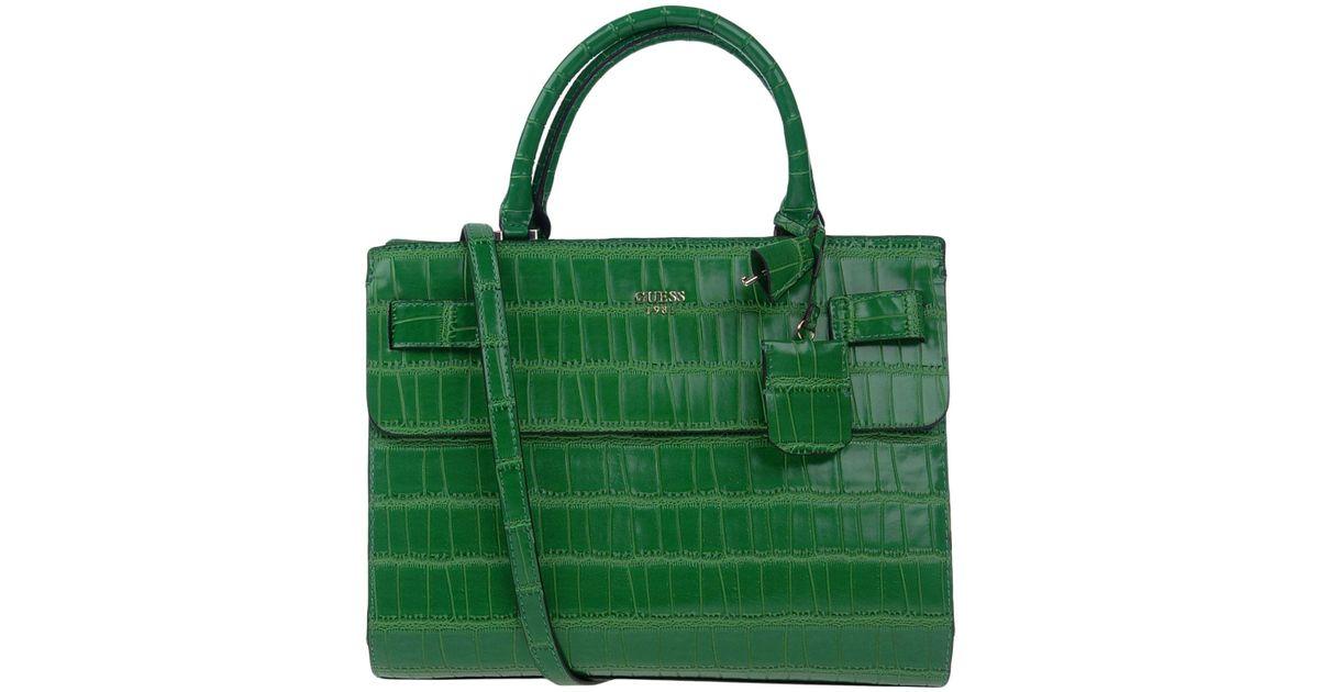 Guess Green Handbag