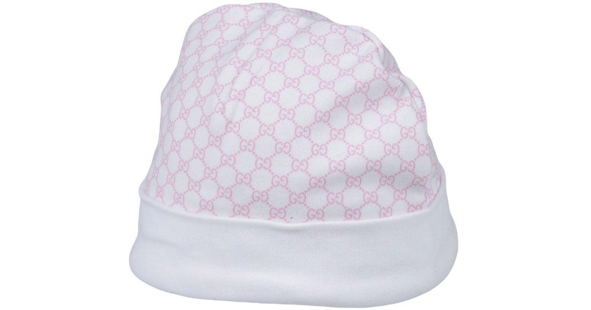 Lyst - Gucci Hat in Pink 395640957