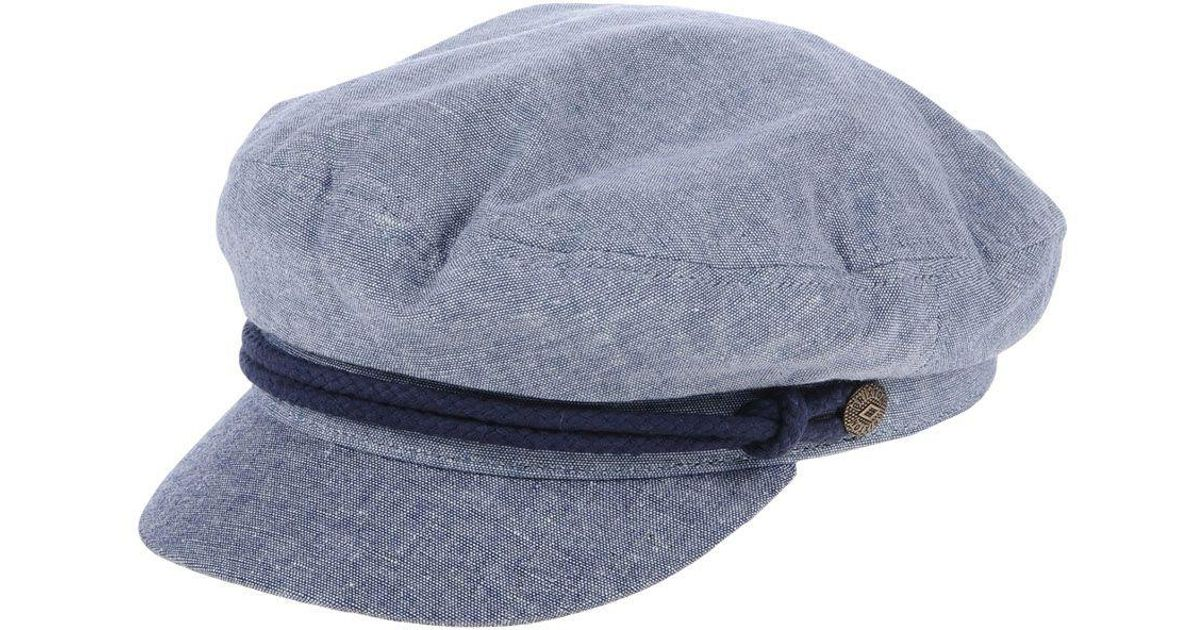 49f292b03b0cc ... coupon for lyst brixton hats in blue for men d71eb 81f50 ...
