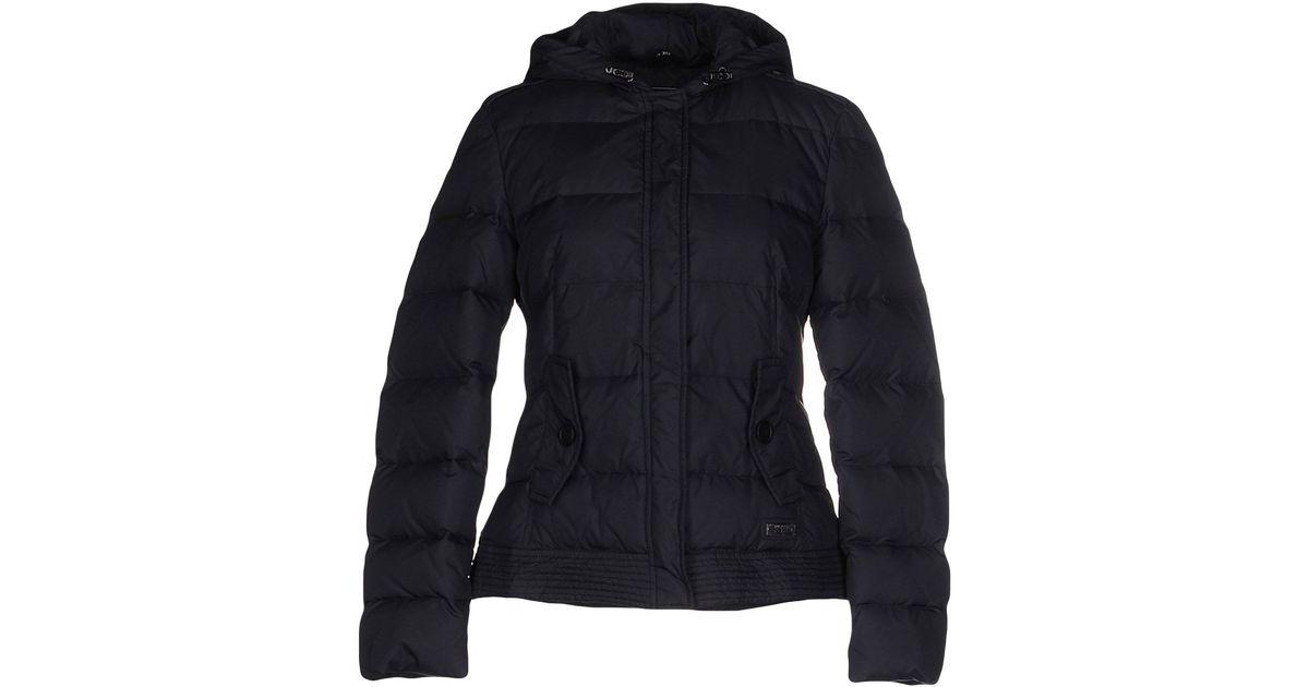 Lyst - 313 Tre Uno Tre Down Jacket in Black 420d611ca71