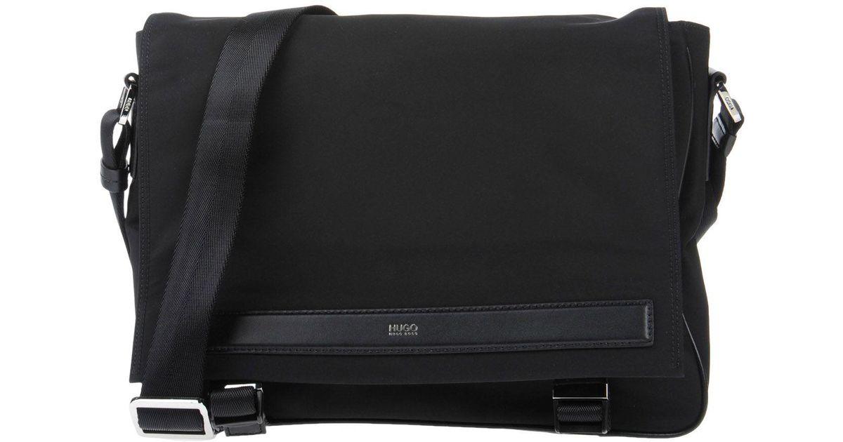 Lyst - Hugo Cross-body Bag in Black for Men d77ddf3917788