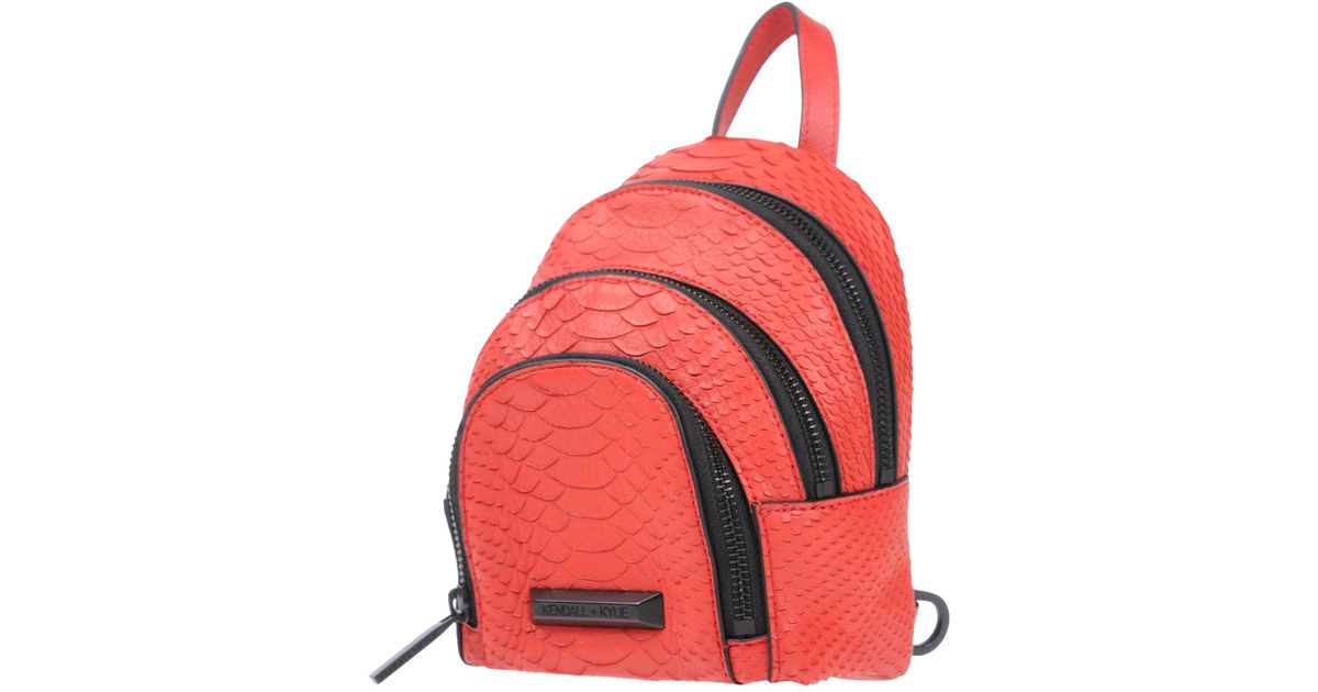 Backpacks In Lyst amp; Kylie Bags Red Kendall Bum xHq5pO8PWw
