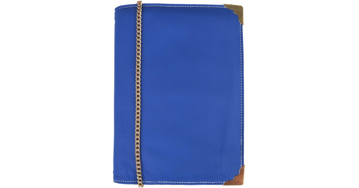 Lyst Sac Main Bleu En Coloris Carmina À Campus P6Pq4