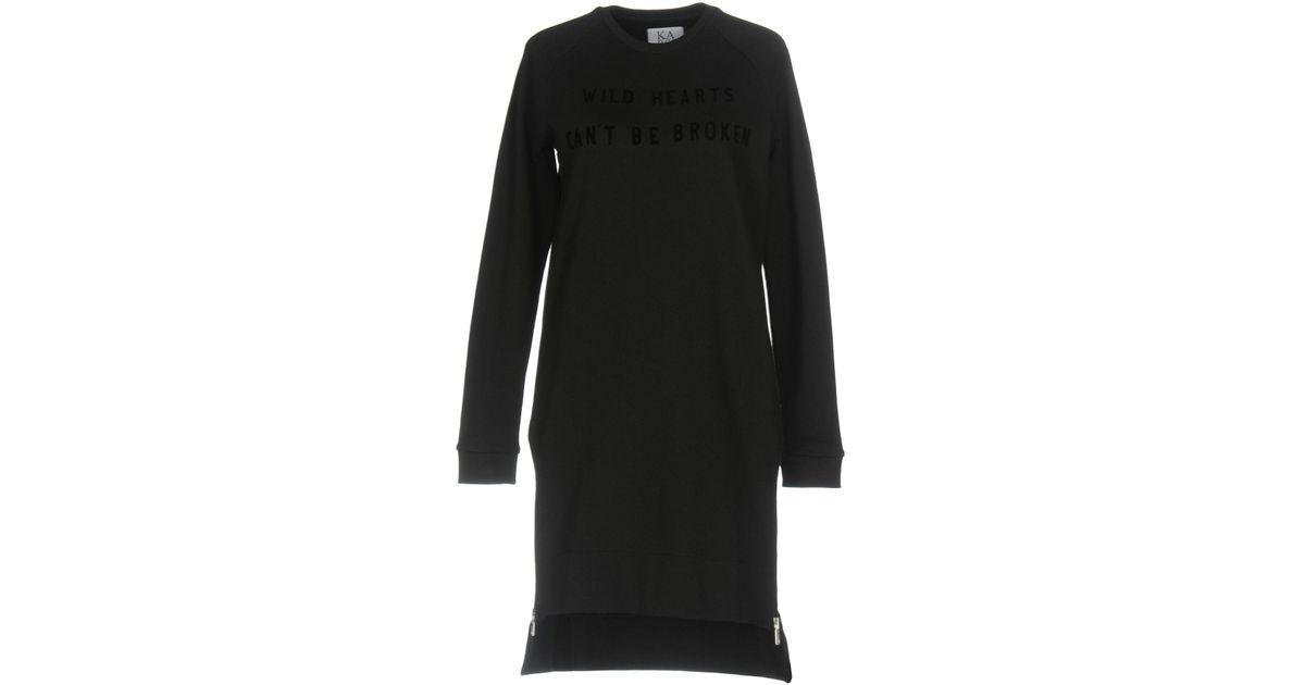 Lyst Dress Short Black In Zoe Karssen pxqpaTrR