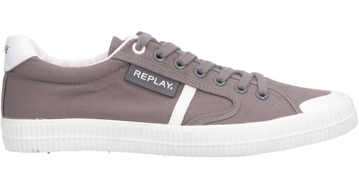 low priced 6aadb 2d486 replay-Dove-grey-Low-tops-Sneakers.jpeg