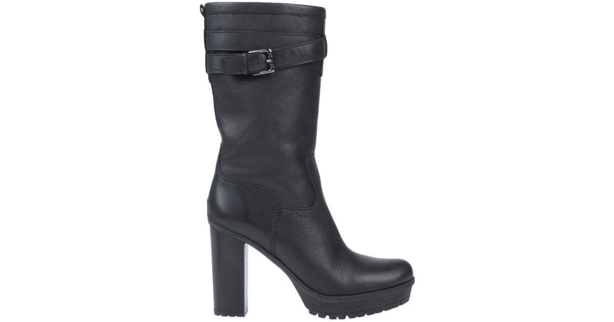 Lyst - Unisa Ankle Boots in Black 1e7878e5932