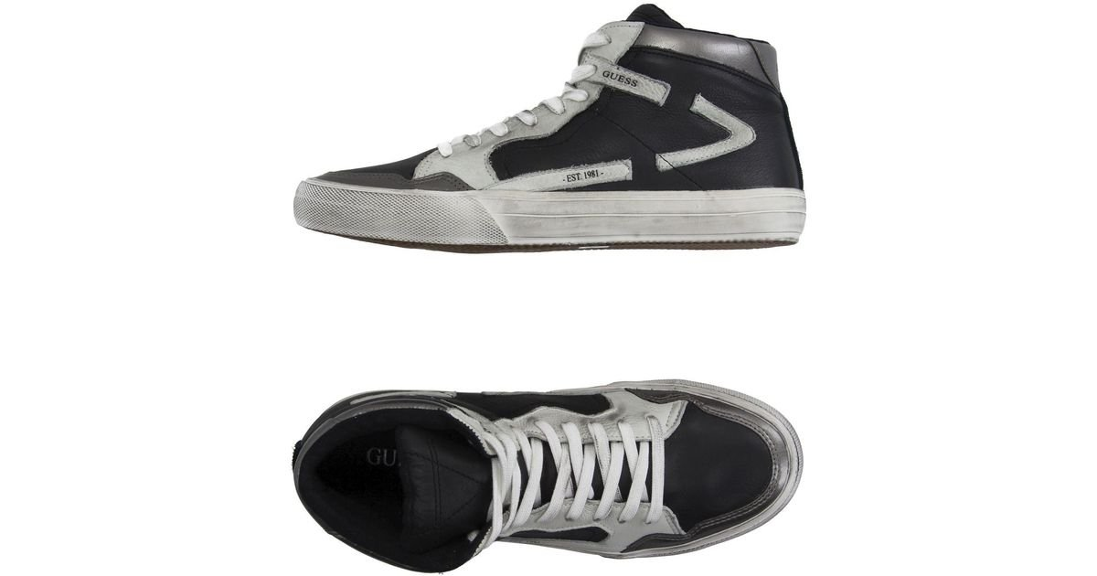 Guess Leather High-tops \u0026 Sneakers in
