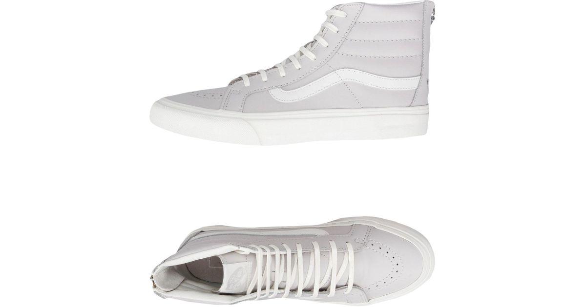 Vans Leather High-tops \u0026 Sneakers in