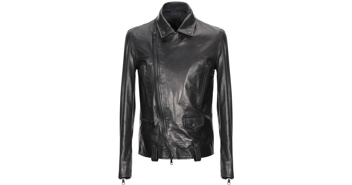 Takeshy Kurosawa Leather Jacket in Black for Men - Lyst