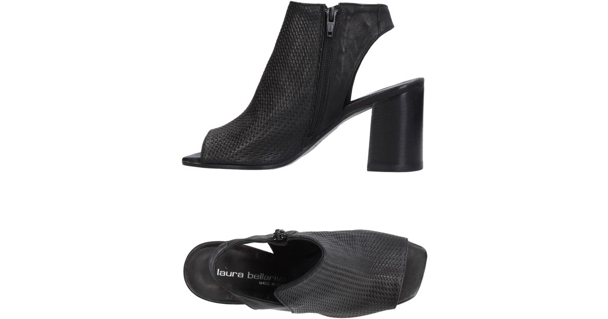 453eefbf4ad3 Lyst - Laura Bellariva Sandals in Black