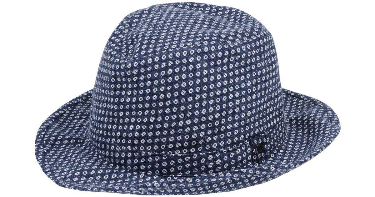 Lyst - Sombrero Doria 1905 de color Azul ab142899a46e