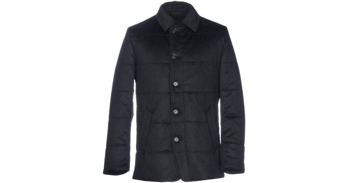 Long Tvwii Pour Coloris Schneiders Manteau Lyst Bleu Homme En tZw6qnxt1