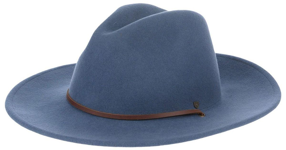 32c89384570a1 ... inexpensive lyst brixton hat in blue for men 46e19 8c7a0 ...