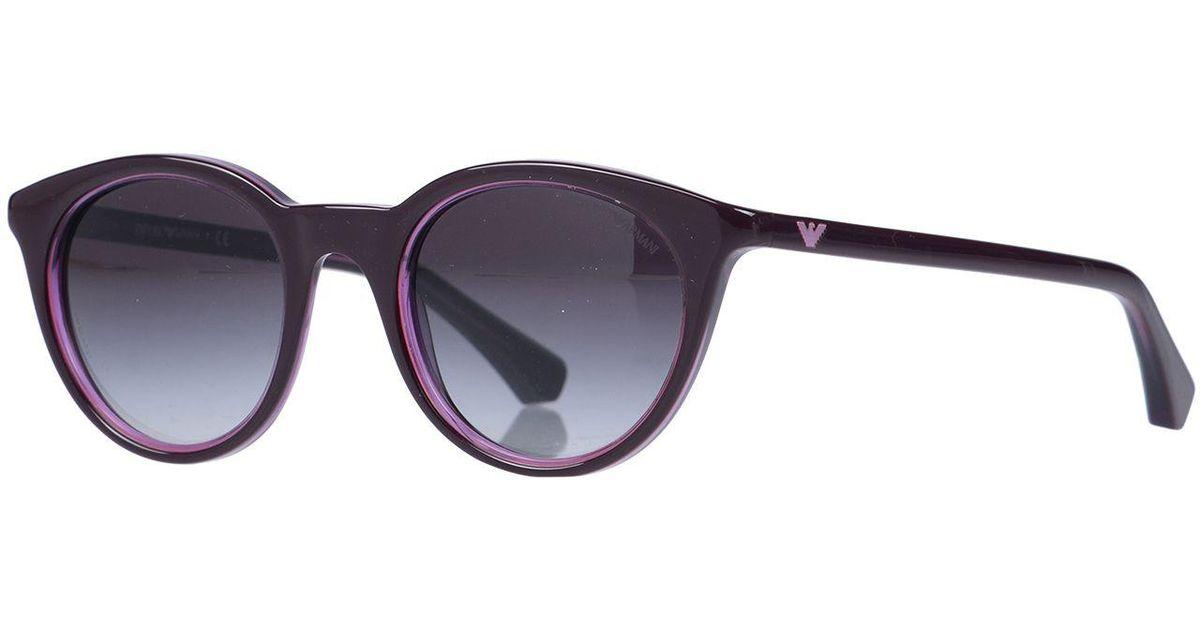 Soleil Lunettes Armani De En Coloris Emporio Purple sQrtdh