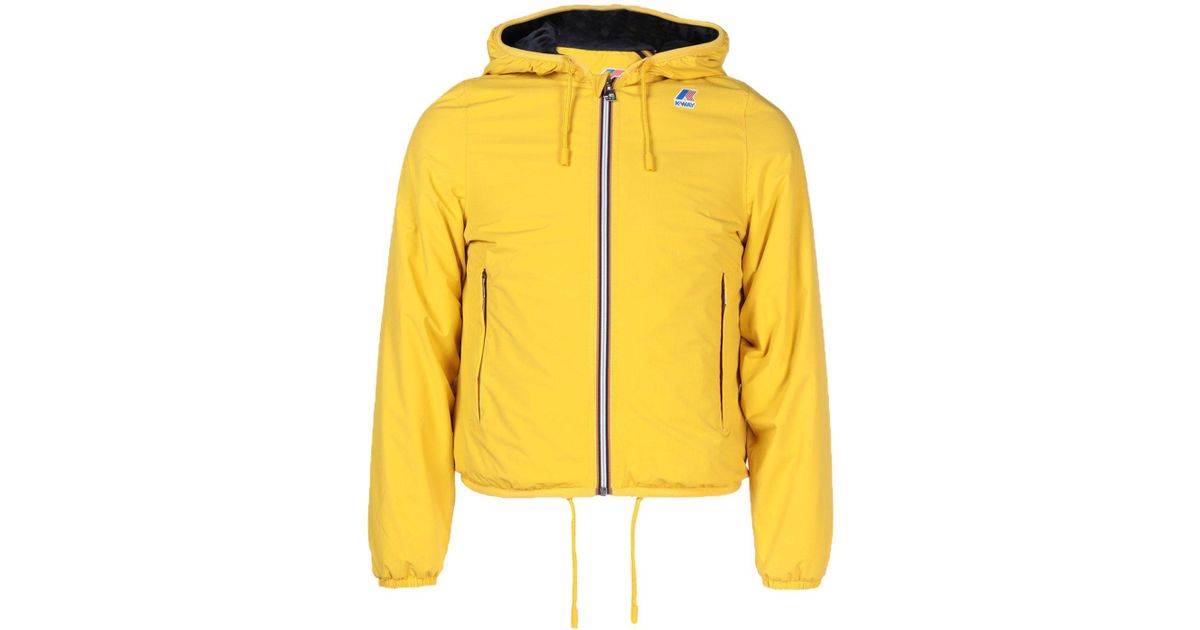 Yellow Blouson Way For Lyst Men K ID9EWH2