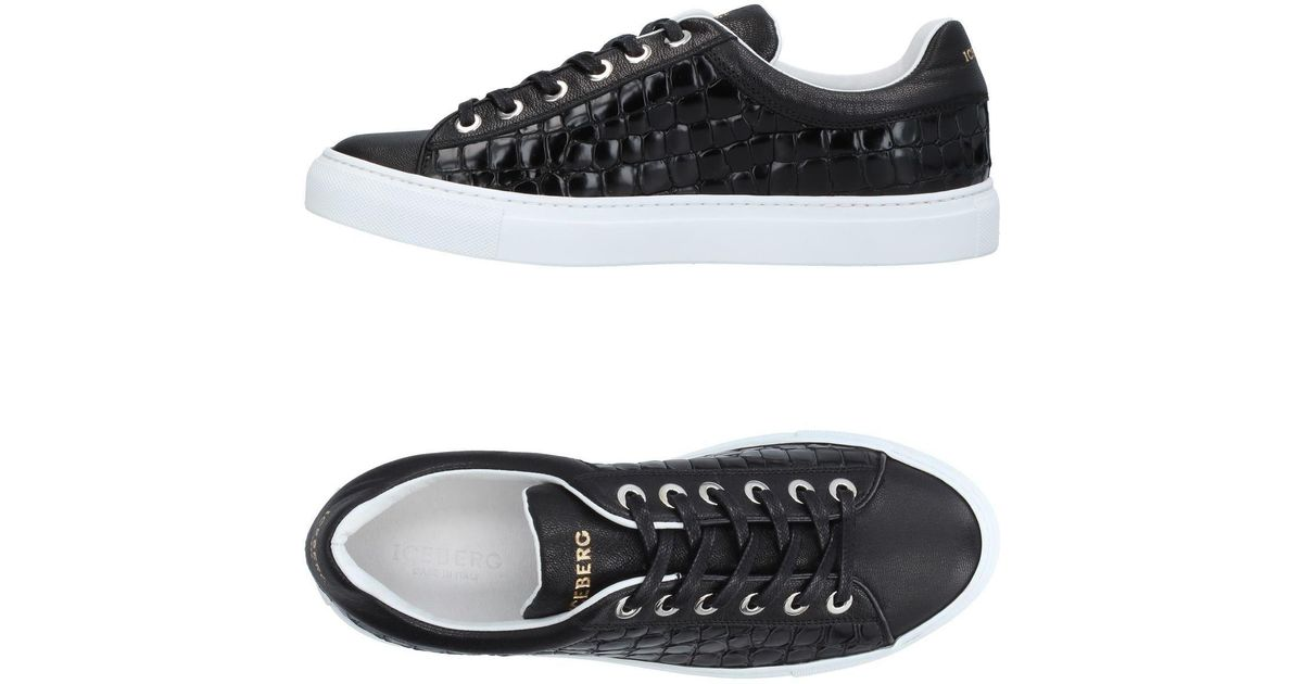 pretty nice a842d 9733a Iceberg - Black Low-tops & Sneakers for Men - Lyst