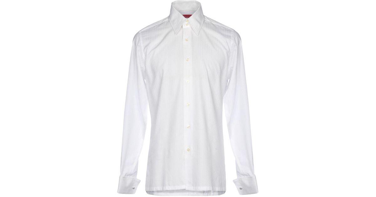 blanco hombre Camisa en Christian Lacroix color para CBoWerxd