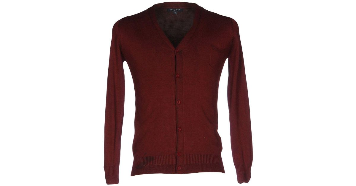 KNITWEAR - Cardigans Henry Smith Cheap With Credit Card Low Shipping For Sale Free Shipping Finishline Multi Coloured Buy Cheap Discount 0Mk5G