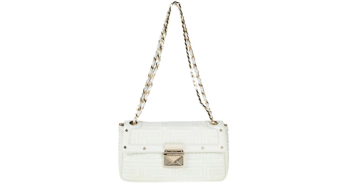Lyst - Gianni Versace Couture Shoulder Bag in White c4743e9f6cb46