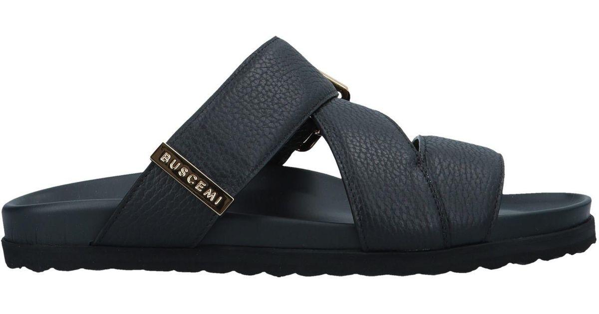 Buscemi Sandals in Black for Men - Lyst