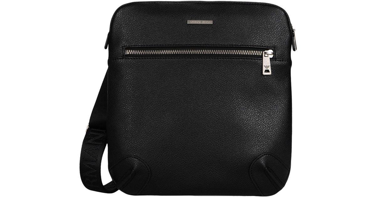 b70d28192d2b Lyst - Armani Jeans Cross-body Bag in Black for Men