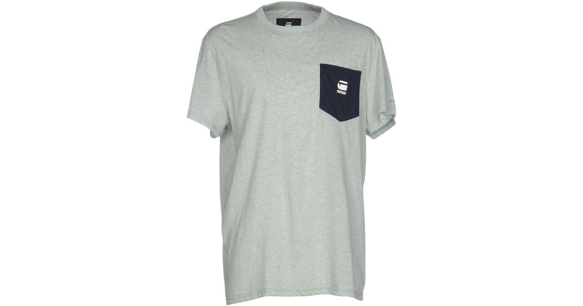 9789836353 G-Star Raw T-shirt in Green for Men - Lyst