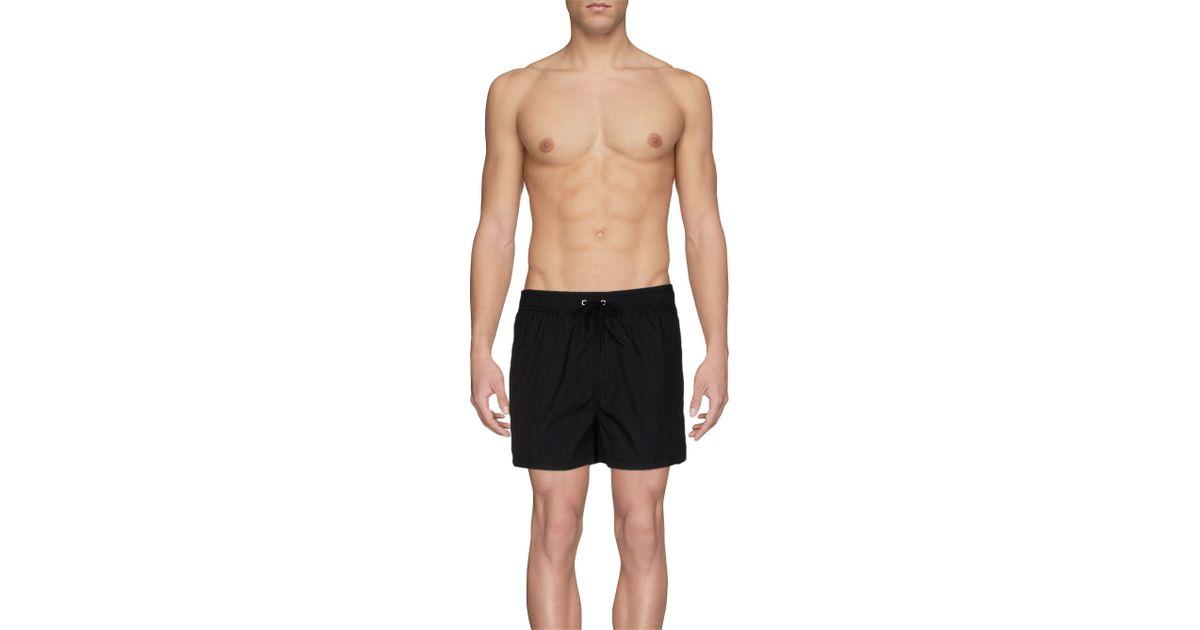 8b2063de44 Just Cavalli Swimming Trunks in Black for Men - Lyst